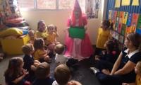 Fadinha mostrou a importância da educação