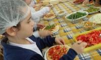 Pizzas vegetarianas do Lobo