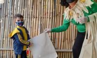 05.07.2021 - Turmas do Maternal 2 - Recebem Visconde de Sabugosa