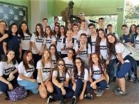 9º ano visita Museu Militar de Panambi