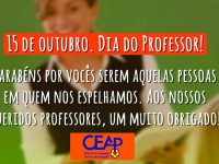 15.10.2018 - Dia do Professor