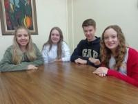 Alunos do CEAP em evento de Liderança Estudantil