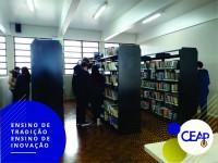 13.08.2019 - Modificações na Biblioteca da Escola