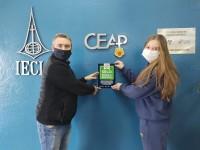 28.06.2021 - CEAP recebe o Selo Escola Segura