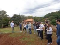 Pesquisa e produção de sementes no foco de saída de estudos