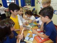 Brique Literário movimentou a escola