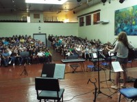 Recital de alunos no auditório