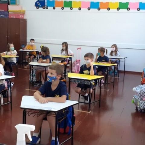 2021 - Primeiro dia de aula no CEAP - 17.02.21