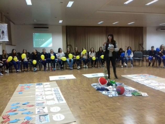 Atividade de interação foi desenvolvida com alunos do 8º ano do CEAP