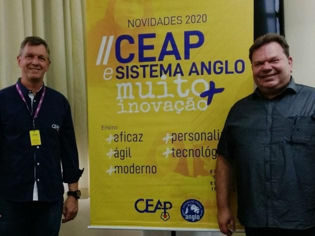 17.10.2019 - Sistema Anglo de Ensino agora no CEAP